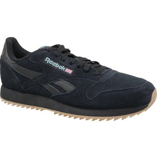 Reebok Classic Leather MU DV3933 Mens Black sneakers