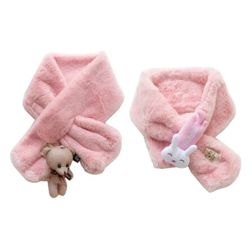 Set of 2 Cute Kids Scarves Children's Scarves Suitable for Winter [S]