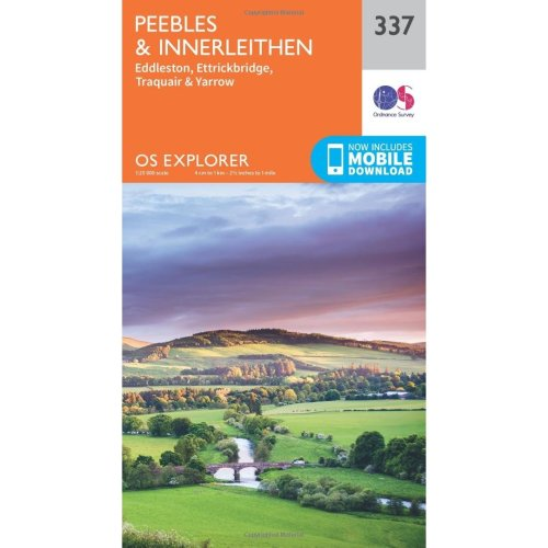 OS Explorer Map (337) Peebles and Innerleithen (OS Explorer Paper Map) (OS Explorer Active Map)