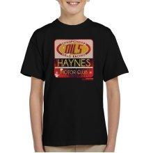 Haynes Championship Drag Racing Motor Club Kid's T-Shirt