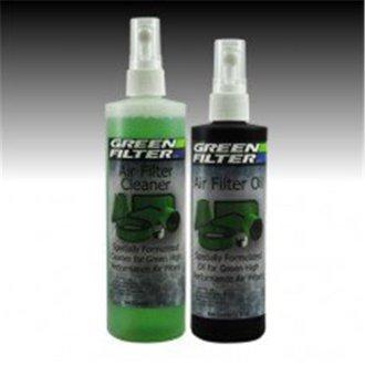 Green Filter G51-2818 Recharge Oil & Cleaner Kit, Black