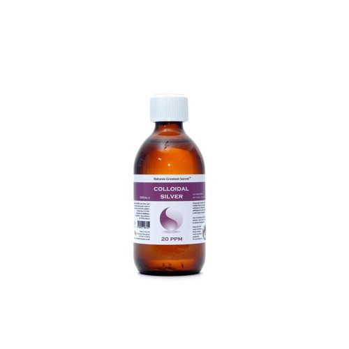 Natures G/Secret  20 ppm Colloidal Silver (Bottle) 300ml