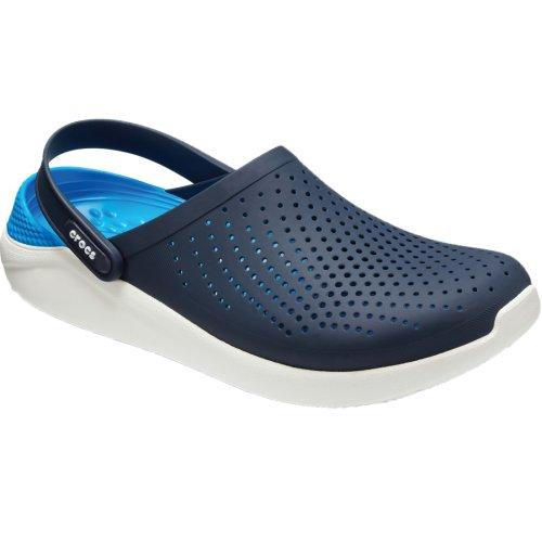 Crocs LiteRide Clog 204592-462 Mens Navy Blue slides Size: 9 UK
