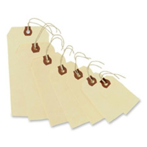 Avery Consumer Products AVE12505 Shipping Tags- No 5 Strung- 4-.75in.x2-.38in.- Manila