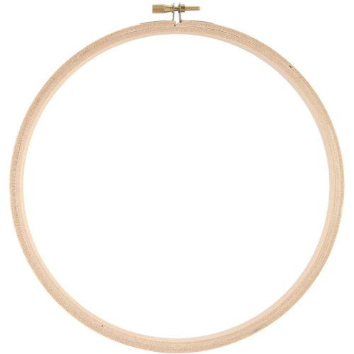 """Darice Wood Hoop 8""""-"""