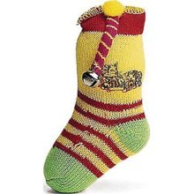 Ethical 5-Inch Neon Sock with Catnip and Bell Cat Toy