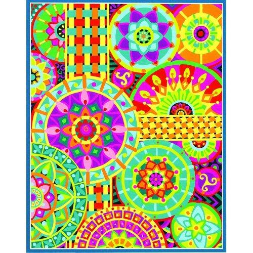 "Dpw91542 - Paintsworks Learn to Paint 14"" X 11"" - Mandala Montage"