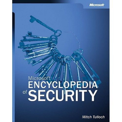 Microsoft® Encyclopedia of Security (Professional Other)
