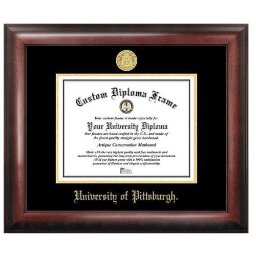 University of PittsburghGold Embossed Diploma Frame
