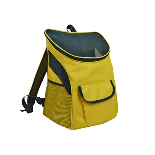 Pet Carrier Soft Sided Travel Bag for Small dogs & cats- Airline Approved, Yellow #8