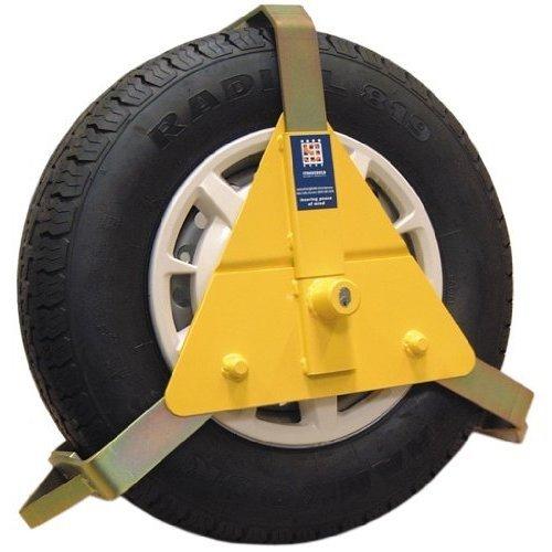 "Stronghold - 10-14"" Wheel Clamp - 10 14 Caravan Maypole Adjustable 5434b -  wheel clamp stronghold 10 14 caravan maypole adjustable 5434b"