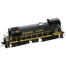 Bachmann industries ALCO S4 Northern Pacific # 713 - DCC Ready Diesel Locomotive - HO Scale