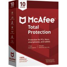 McAfee Total Protection Antivirus | 10 Devices