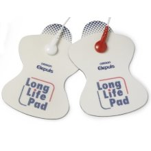 Omron Tens Long Life Pads - Electrode Replacement Electronic Nerve Stimulators -  omron pads tens electrode long life replacement electronic nerve