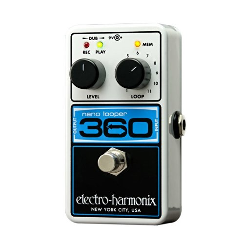 Electro Harmonix Nano Looper 360 Effects Pedal With Power Supply