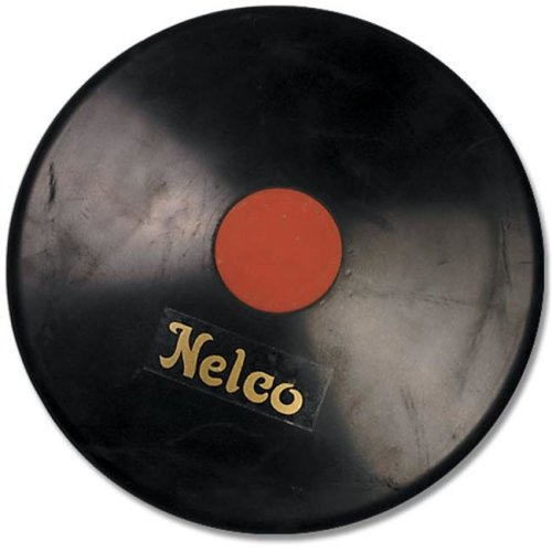 SSN 1101430 2 kg Official Discus Black Rubber