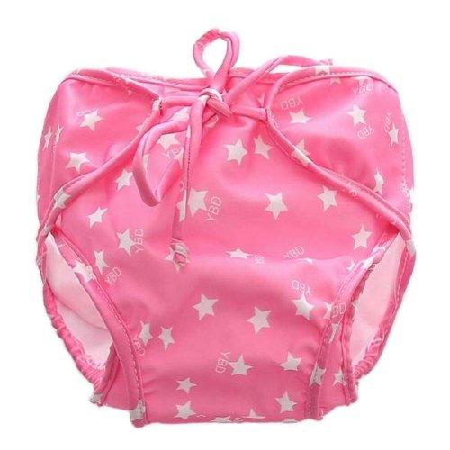 [Stars] Reuseable Baby Swim Diaper Lovely Infant Swim Nappy Swimwear