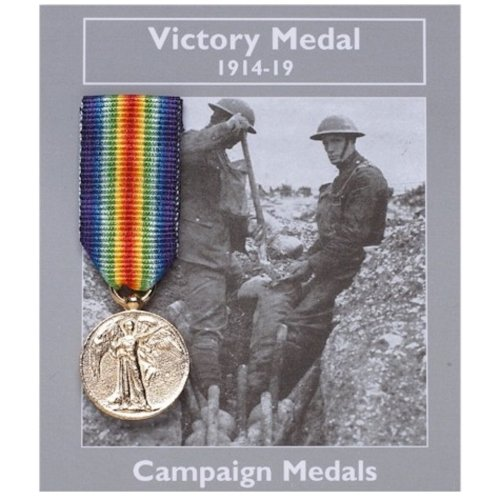 Mini WW1 Replica Victory Medal Decoration Medal World War 1 100 Year Anniversary Gift