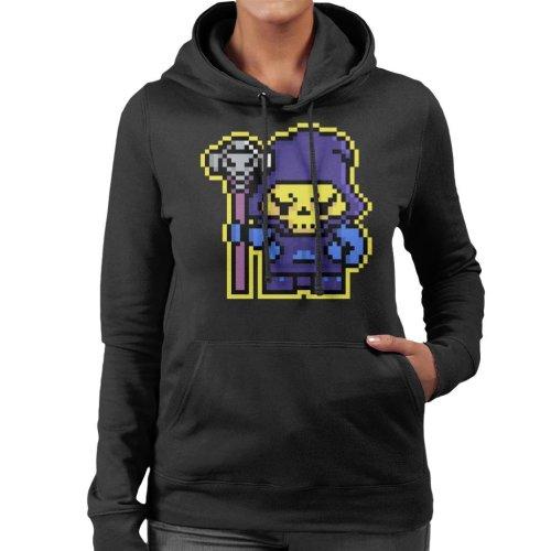Pixel Skeletor Women's Hooded Sweatshirt