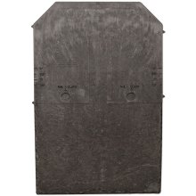 Tapco Roof Slate Tile - Lightweight Strong Synthetic Plastic Roofing Shingle - Steel Grey