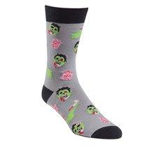 Sock It To Me Braiiins Mens Crew Socks Zombie Halloween Wear
