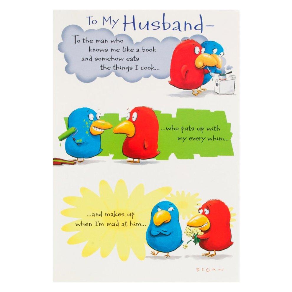 Hallmark Birthday Card For Husband Funny Poem