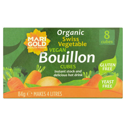 Marigold  Bouillon Cubes (Green) Yeast Free 84g x 12