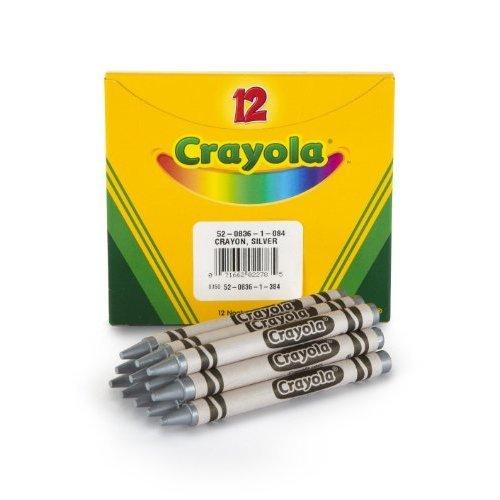 Crayola Bulk Crayons Silver 12 Per Box