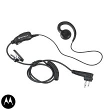 Motorola HKLN4604 Swivel Earpiece with Mic & PTT - DTR, CLS, RDX, RM, DLR Series