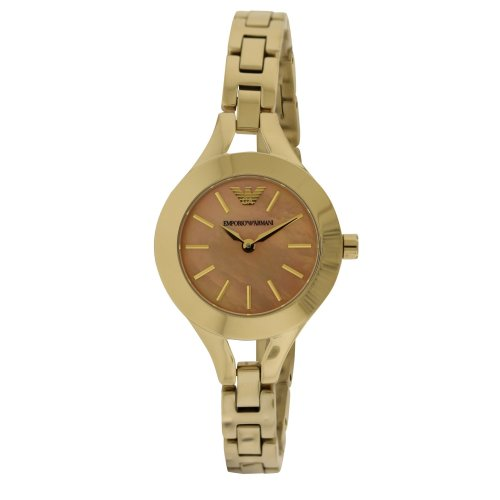 Emporio Armani Dress Gold-Tone Ladies Watch AR7417