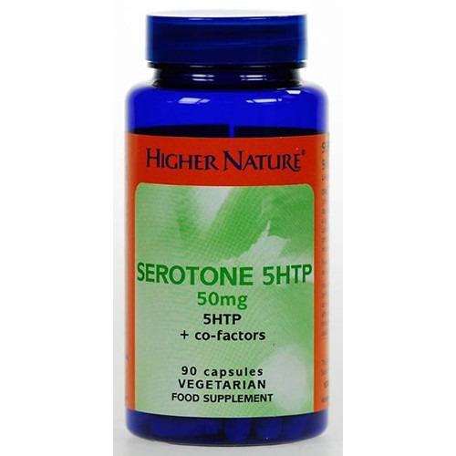 Higher Nature 12% off Serotone 50mg  30 Capsules