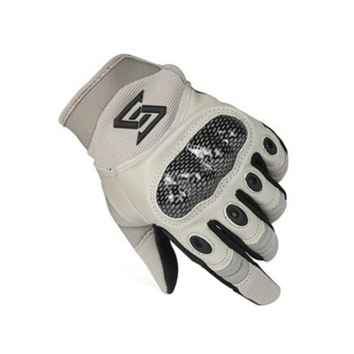 Wear-resistant Antiskid Rock Climbing Riding Gloves GRAY, L