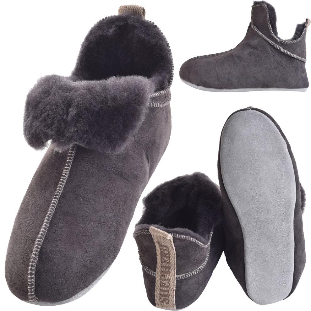 761754aa75c15 Shepherd of Sweden Soft Sole Sheepskin Bootee Slipper on OnBuy