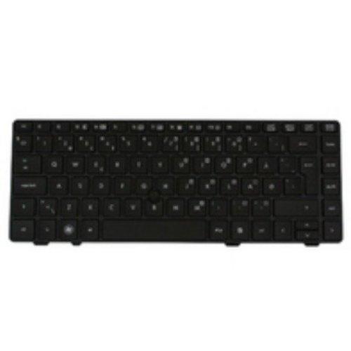 Hp 639478-081 Danish Black Keyboard