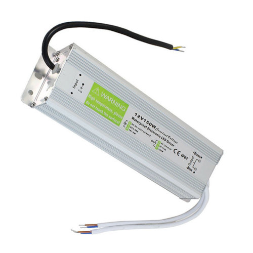 Waterproof DC12V IP67 12.5A 150W LED Driver Power Supply Transformer