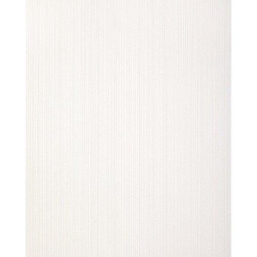 EDEM 557-10 Stripes-wallpaper matt pure-white grey-white 5.33 sqm (57 ft2)