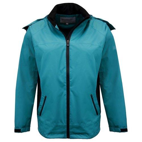 ProQuip Golf Sophie Ultralite Waterproof Rain Jacket Teal Large
