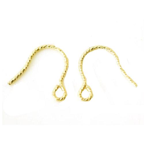14 K Earring Hooks Nice Earrings Supplies 1 Pair
