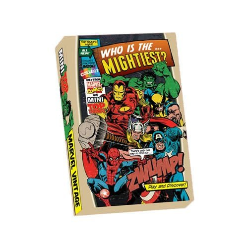 Marvel Comics Vintage Top Trumps | Retro Marvel Top Trumps