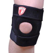 Set of 2 Sports Safety Adjustable Knee Pads Knee Support/Protector Black