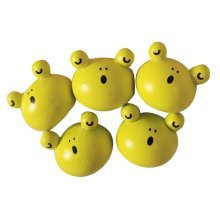 Creative Office Item/ Cute Frog Series Pushpins, Steel Point, 10 Piece
