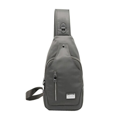 Korean Tide Mini Bag  Sports Single Shoulder Bag,Dark Grey