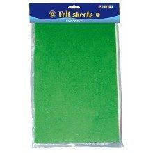 Pbx2470037 - Playbox - Felt Sheets (8 Colours) - 8 Sheets