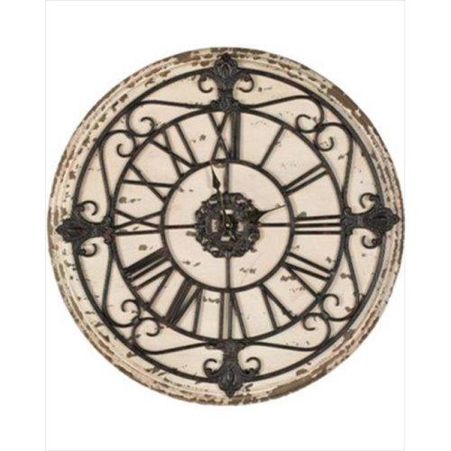Safavieh AMH4062A Jerry Wall Clock - Antique Rusty