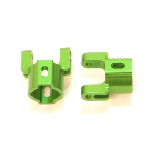 ST Racing Concepts STA80012G Aluminum Hub Carriers for The Axial AX10, Green