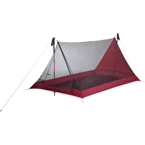 MSR Thru-Hiker Mesh House 3 Trekking Pole Shelter