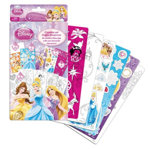 PRINCESS Creative & Art Set Hours of Colouring and Sticker Fun