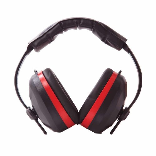 sUw - Comfort Ear Protector Defenders Muffs Black Regular
