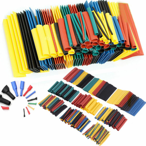 400Pc  Heat Shrink Tubing Tube Sleeving Wrap Cable Wire package