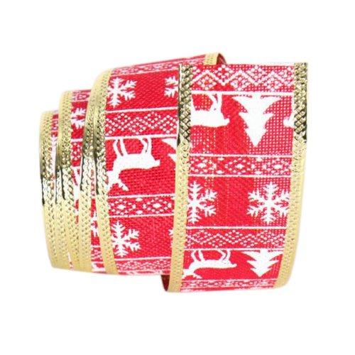 Party Supply DIY Ribbon Red Home Christmas Decor Ribbon
